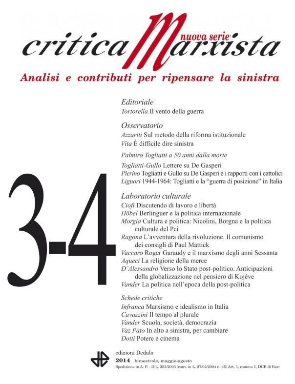 critica marxista n.2 2014