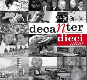 """Presentazione del doppio DVD per i 10 anni di """"Decanter"""""""