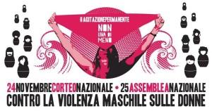 Tutti e tutte in piazza il 24 contro la violenza maschile