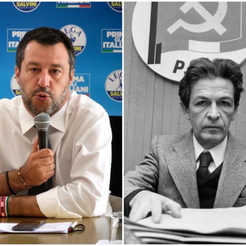Salvini, il Pci e la sinistra che non difende la propria storia